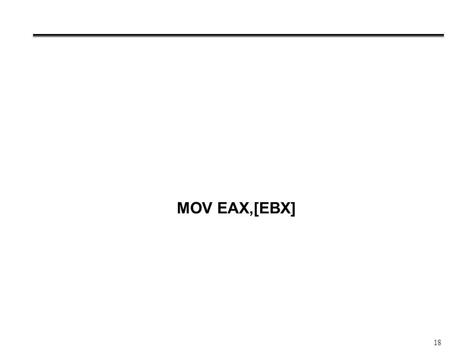 MOV EAX,[EBX]